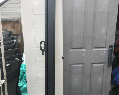 """Soges 71"""" H Patio Side Awning Privacy Screen Sun Shade and Wind Screen"""