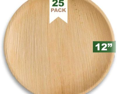 ISO - ISO - Biodegradable/palm leaf plates and cutlery