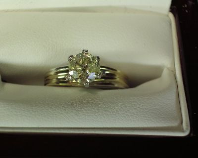 1.06 ct SI CLARITY IGL Certified Diamond Solitaire