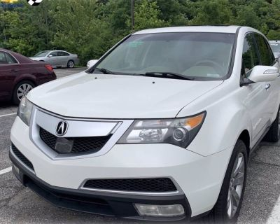 2012 Acura MDX Advance Package