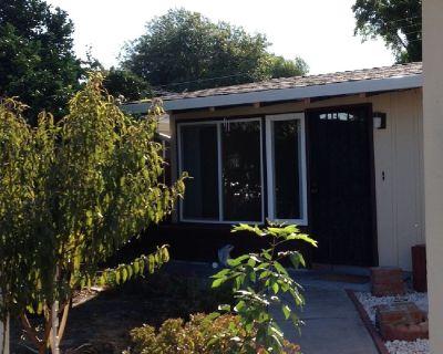 Sunnyvale 1 level fenced yard 3bed/2bath with AC & double paned windows