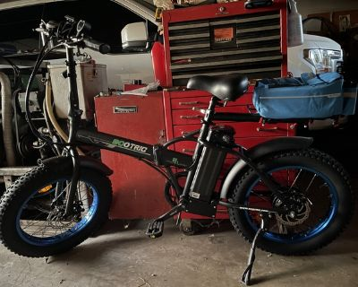 Ecotric 20 Fat Tire Electric Bike