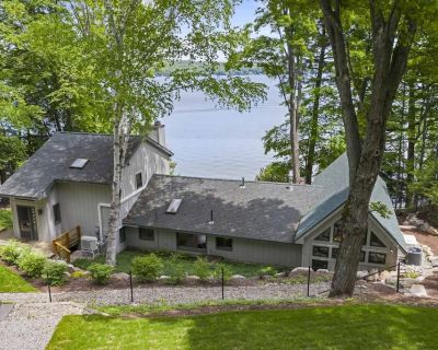Walloon Lakefront - Wooded and Serene With 117' of Spectacular Lake Frontage - Boyne City