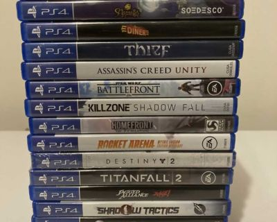 PlayStation 4 Games Used/Sealed