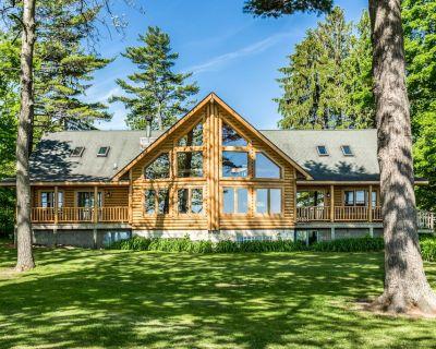 Lexington - Lake Huron - Large Log Home - Sandy Beach/Sunrise - Lexington