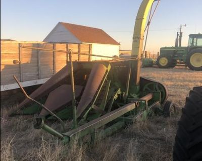 John Deere 12-FH with 12-2R
