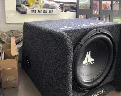 JL audio 12 inch subwoofer
