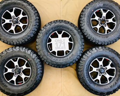 Texas - 2021 Rubicon Wheels & BFG KO2s (171mi)