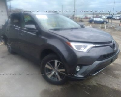 Salvage Gray 2018 Toyota Rav4