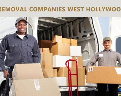 Why choose the best removal companies west Hollywood ?