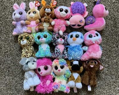 Lot of 16 Beanie Boo s