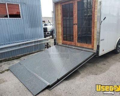 Very Clean and Elegant 2021 - 8.5 x 18 Enclosed Mobile Boutique Trailer for Sale Texas!