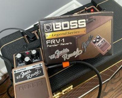 Boss FRV-1 Fender Reverb Tank Pedal