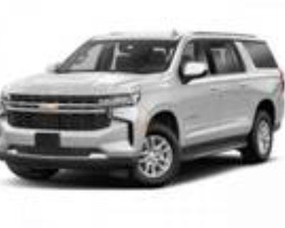 2021 Chevrolet Suburban White, 100 miles