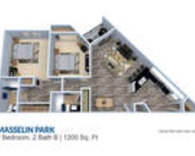 Masselin Park West - 2 Bedroom 2 Bath 1200 sq ft