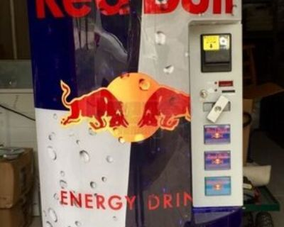 Red Bull Electronic Energy Drink Vending Machine