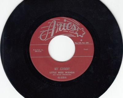 LITTLE MISS WANDA AND GROUP ~ My Johnny*Mint-45 !
