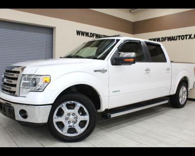 Used 2013 Ford F-150 King-Ranch SuperCrew 5.5-ft. Bed 2WD