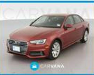 2018 Audi A4 Red, 37K miles