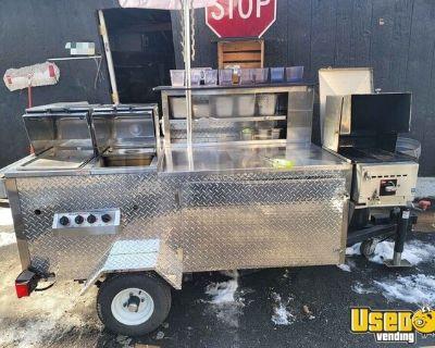 2012 DreamMaker Hot Dog Cart / Used Street Food Concession Vending Cart