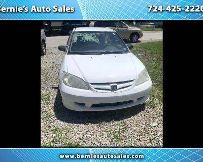 2005 Honda Civic Coupe 2dr CVT LX