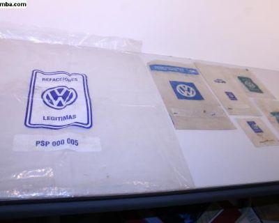 OG Vintage VW Spare Parts Plastic Bag Collection