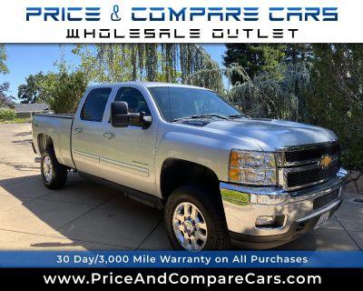 Used 2012 Chevrolet Silverado 2500HD 4WD CREW CAB LT DURAMAX DIESEL