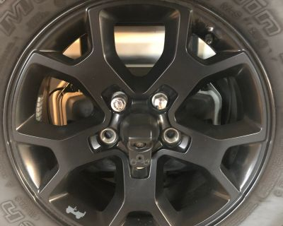 California - Wheels for sale (Moab black, 17 OEM)