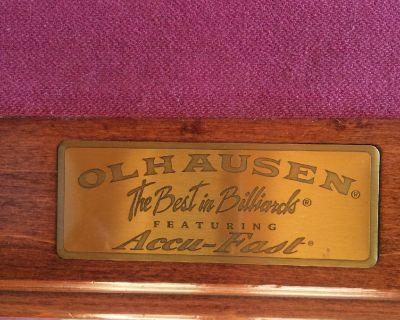 Olhausen 8' Billiard Pool Table 3-Piece Slate