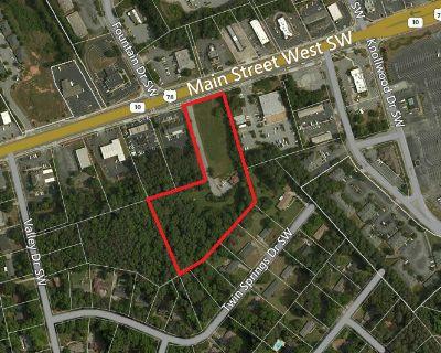 5.148 Acres Gentle Sloping Land Zoned BG and O&I