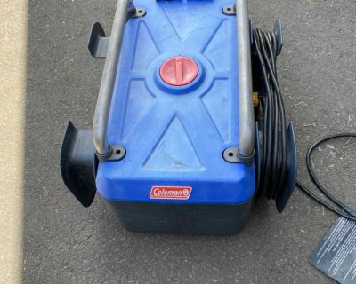 Coleman electric pressure washer 1900 psi