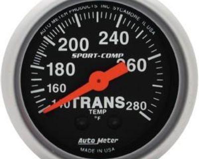Autometer Sportcomp Transmission Temp Gauge 2 1/16th Mech. #3351