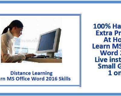 Word 2016 Remote Training for Windows Mac Microsoft Introduction - adults teens London Mississauga Toronto