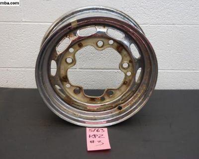 5/63 KPZ Porsche 356 Wheel Chrome Steel #3