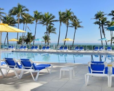White Sand Beach! 1 Great 2BR Apartment, Pool, Tennis, Gym, Close TO Attractions - Mid Beach