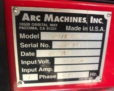 ARC MACHINES INC 207A WELDING POWER SUPPLY 227207-CW COOLER AMI ORBITAL WELDER
