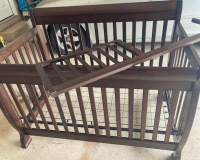 MDB (Million Dollar Baby) Convertible Crib – Used Furniture