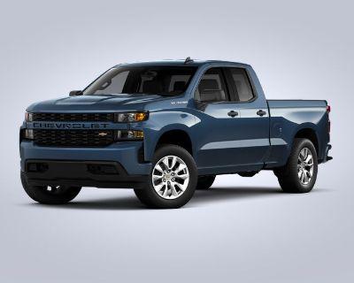 New 2021 Chevrolet Silverado 1500 Custom Rear Wheel Drive Trucks