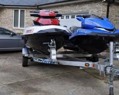 2011 SeaDoo GTX 155 6hrs and 2008 Kawasaki Ultra 250X
