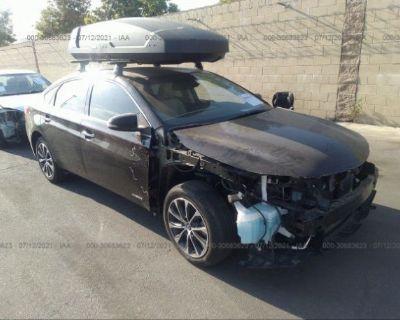 Salvage Black 2017 Toyota Avalon