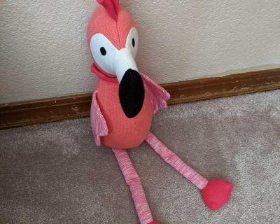 Pink Flamingo Plushie