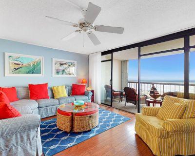 Oceanfront Irene Condo w/ 2 Balconies, Ocean View, AC, WiFi, Shared Pool/Sauna! - North Ocean City