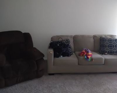 Couch chair Coffee table and end table