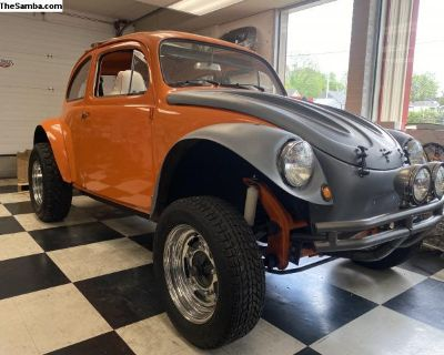1958/1970 VW baja bug