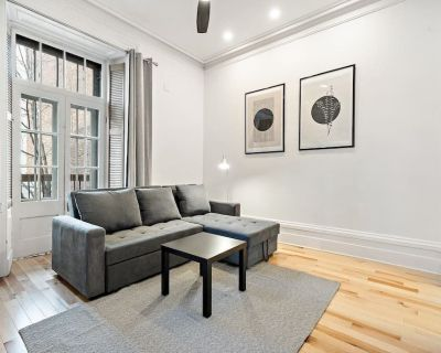 Newly Renovated 1 bed 1 WC Centrally Located Old Montreal w/ Patio - Downtown Montreal