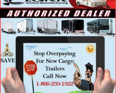 Custom Cargo Trailers! Starting as low as $2,000 (depending on Size)