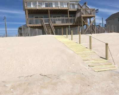 Terrapin Station: Oceanfront Home for Vacation Rental, Pet Friendly, Sleeps 10 - Surf City