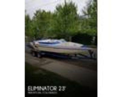 23 foot Eliminator 230 eagle xp