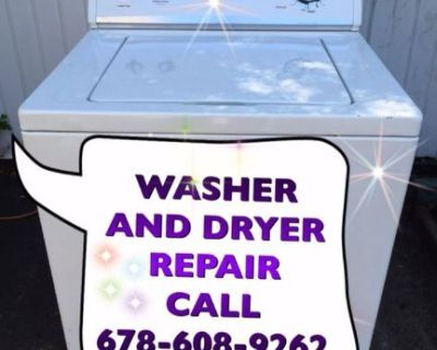 WASHER AND DRYER REPAIR  CALL 678-608-9262