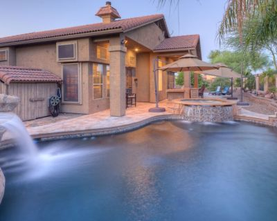 Queen Creek Village: Private Htd POOL, Spa, Putting Green, GOLF Course VIEW, Bikes, Community Center - Rancho Del Rey